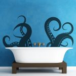 : Vinyl wall decals with vinyl decals with bathroom wall stickers with peel and stick wall decals