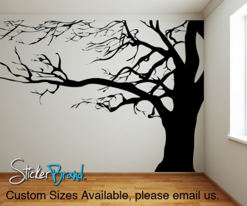 Vinyl wall decals with wall stickers for living room interior design with tree wall vinyl with vinyl stickers