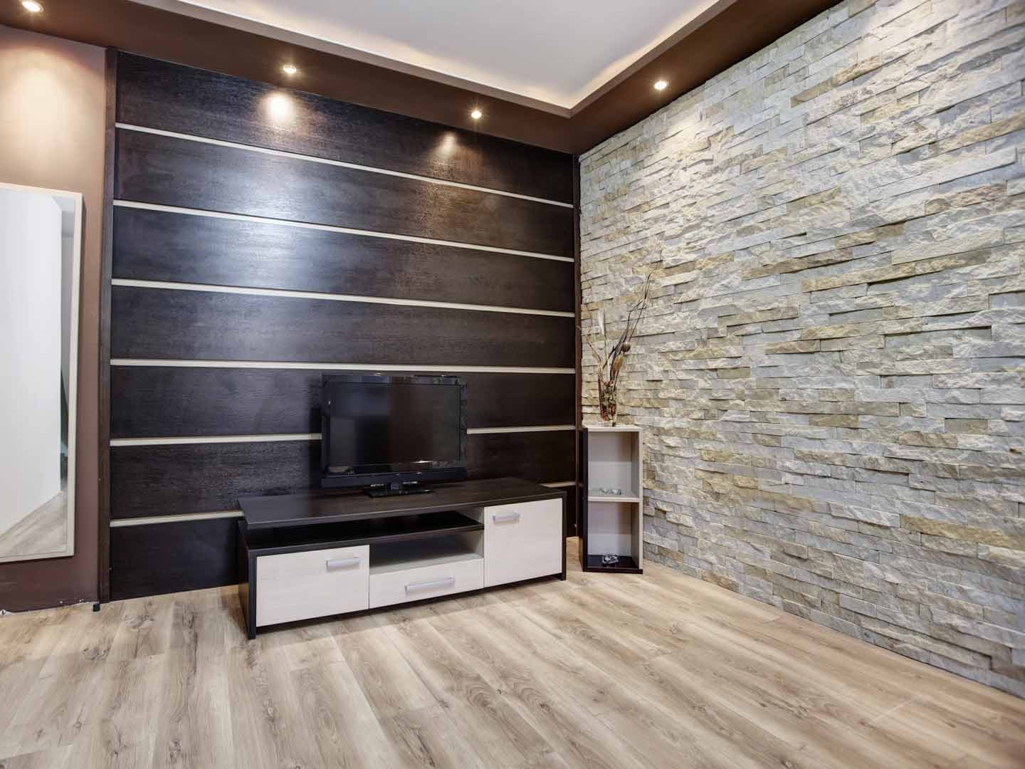Wall paneling with printed wall panels with real wood paneling sheets with louvered wall panels