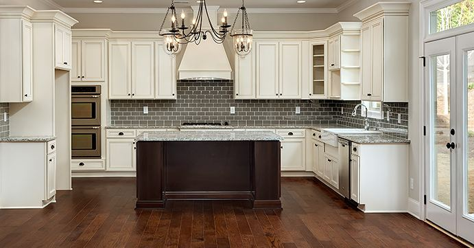 White kitchen cabinets be equipped country kitchen cabinets be equipped oak cabinets