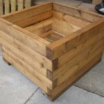 : Wooden planter boxes you can look painted wooden planter boxes you can look narrow wooden planters you can look modern wood planter box