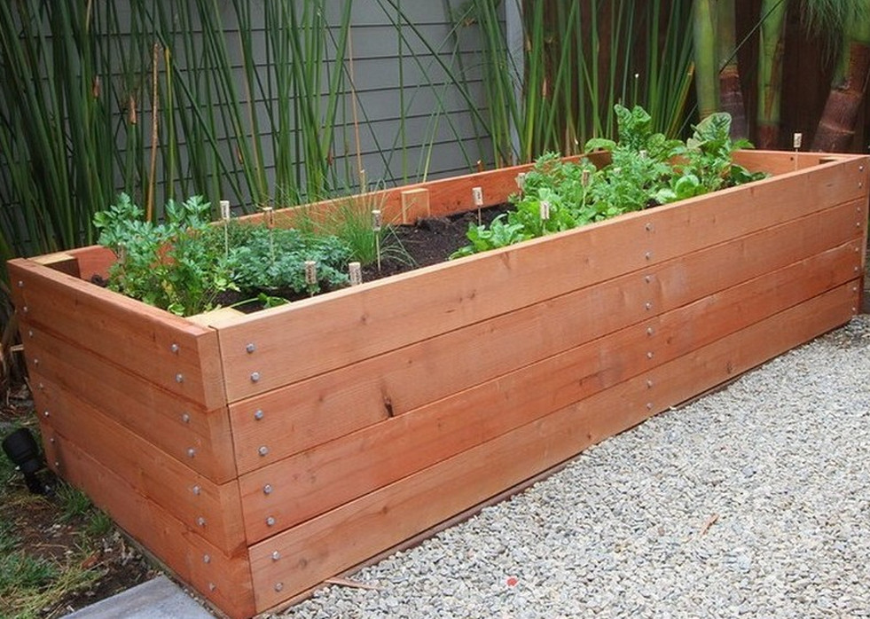 Wooden planter boxes you can look square wooden planter box you can look contemporary planters
