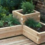 : Wooden planter boxes you can look unique plants you can look small planter box you can look railing planter box