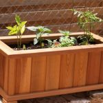 : Wooden planter boxes you can look wooden rectangular planter box you can look wooden planter box diy you can look wooden crate planter