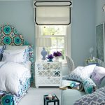 : bedroom chic decorating ideas with luxury light blue color for bedroom be equipped white glass side table bedroom also short curtains bedroom and shabby chic furniture sofa