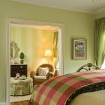 : light green bedroom color ideas for small bedroom design with classic chandeliers also classic bedroom furniture set be equipped wicker chair bedroom & classic bedroom vanity