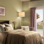 : modern gray bedroom color ideas for small bedroom design ideas with standing lamp bedroom and white window patio be equipped with purple curtains door also bedroom chair ideas