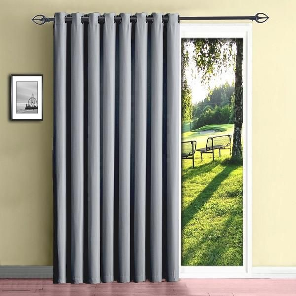 patio door curtains also extra wide curtains for patio doors also sliding door curtain ideas