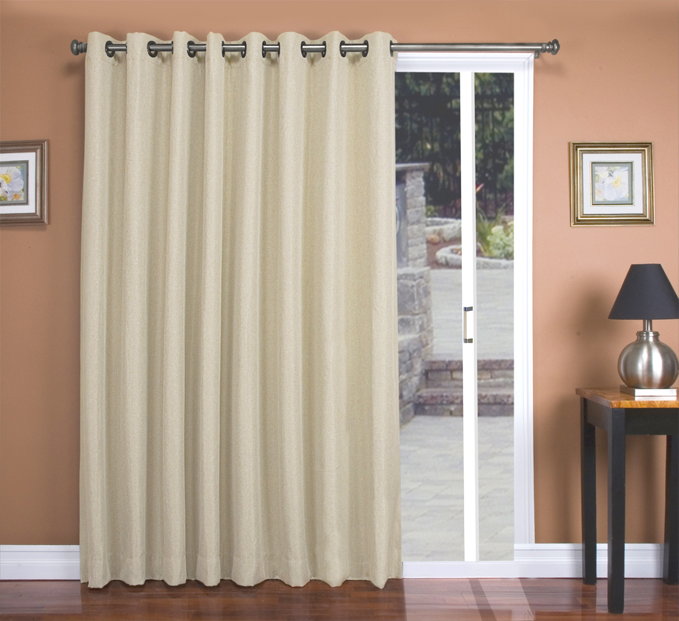 patio door curtains also insulated drapes for sliding doors also contemporary curtains for sliding doors