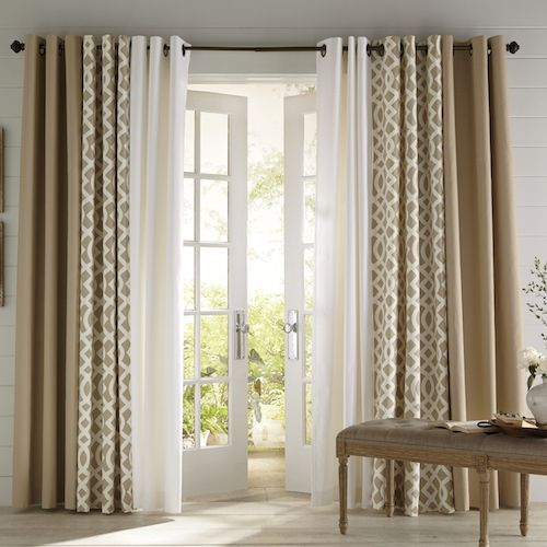 patio door curtains also ready made curtains for patio doors also drapes for back door