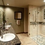 : quartz bathroom countertops with sink for simple bathroom remodel ideas be equipped with elegant walk in shower & concept crass towel bar and also small bathroom mirror cabinet