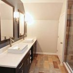 : wonderful large bathroom vanity for concept beautiful bathroom remodel ideas be equipped with double mirror ideas and three wall mount lighting fixtures and also best flooring