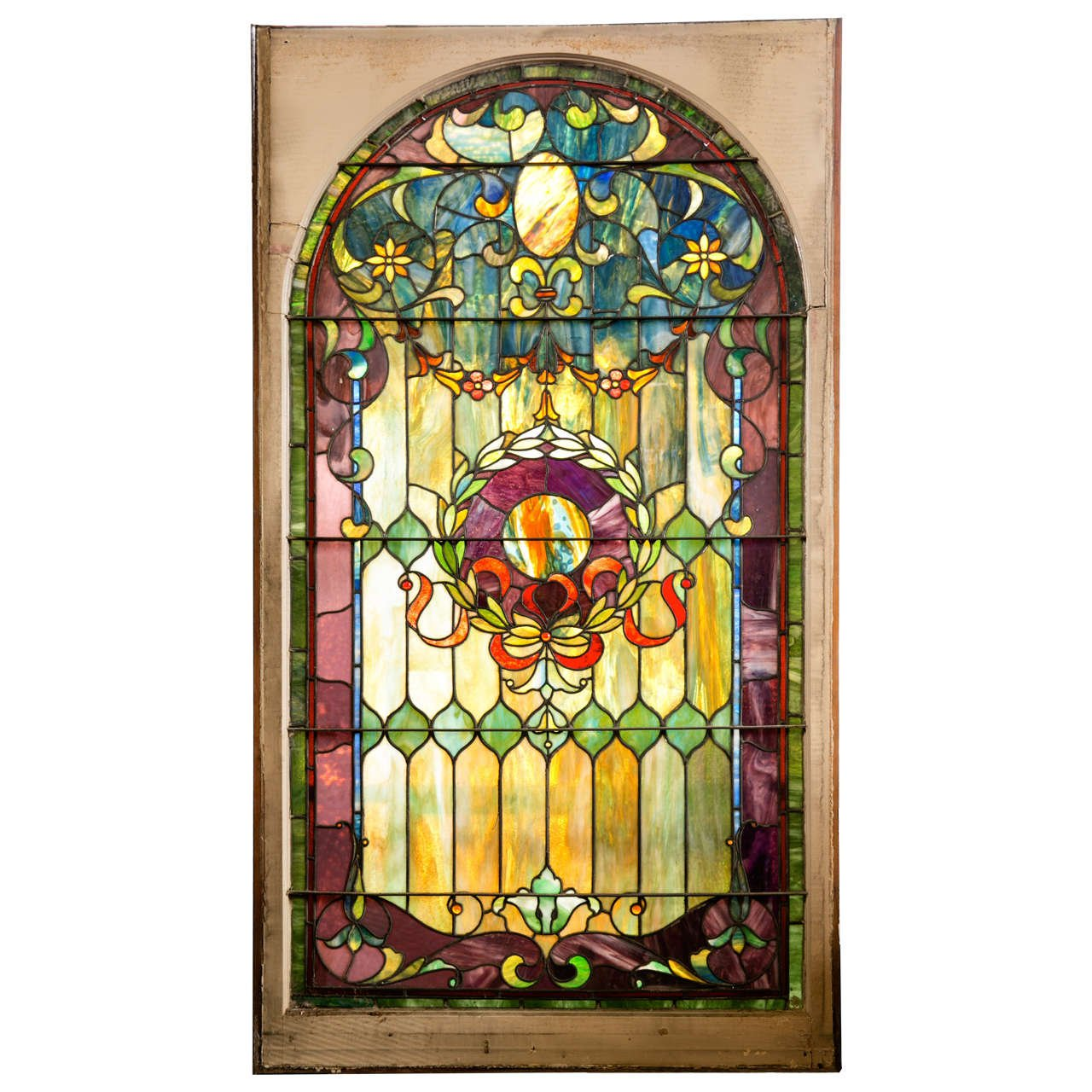 Old is better than new antique stained glass windows texas.