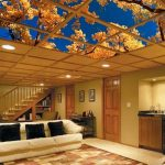 : Basement ceiling ideas with basement flooring with replacement ceiling tiles with ceiling tiles for drop ceiling