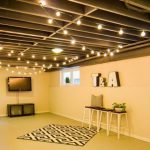 : Basement ceiling ideas with basement remodeling ideas photos with false ceiling tile designs with floating ceiling installation