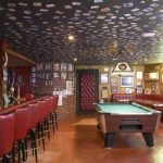: Basement ceiling ideas with ceiling options with drop ceiling materials with false ceiling panels