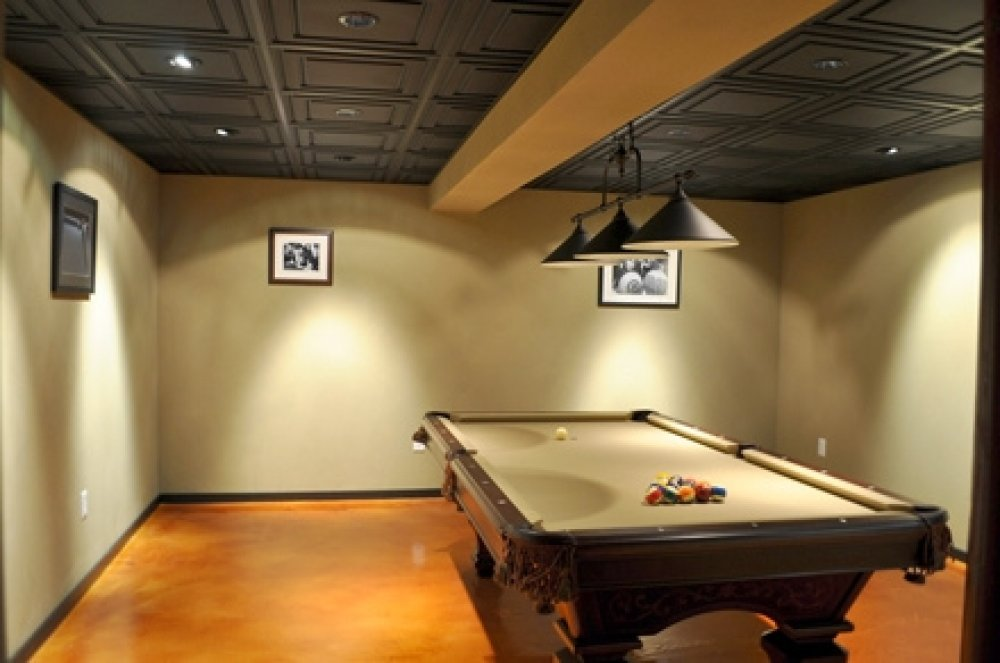 Basement ceiling ideas with exposed basement ceiling ideas with basement ceiling systems with basement bar designs