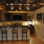 : Basement ceiling ideas with suspended ceiling tiles with basement ceiling options with ceiling panels with drop ceiling grid