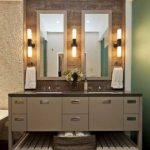 : Bathroom sconces be equipped 36 inch vanity light bar be equipped bathroom single sconce lighting be equipped modern chrome bathroom lighting