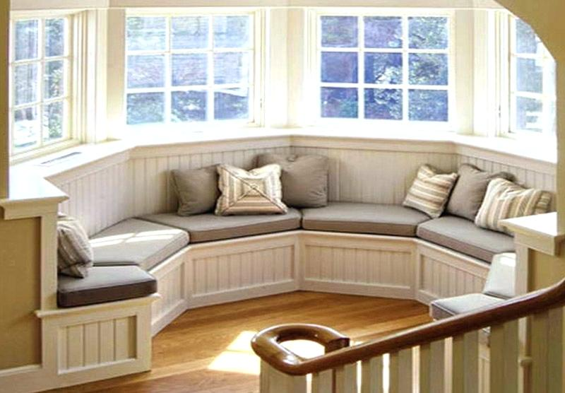 Bay Window Bench With Bay Window Storage Unit With Large Storage