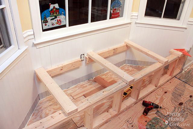Bay Window Bench With Bench Seating With Storage For Window Seat