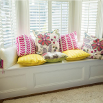 : Bay Window Bench with under bay window storage with build your own bay window with custom made window seats