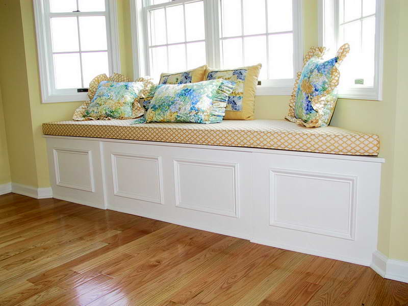 Bay Window Bench with upholstered window seat cushions with window bench for sale with bay window breakfast nook bench