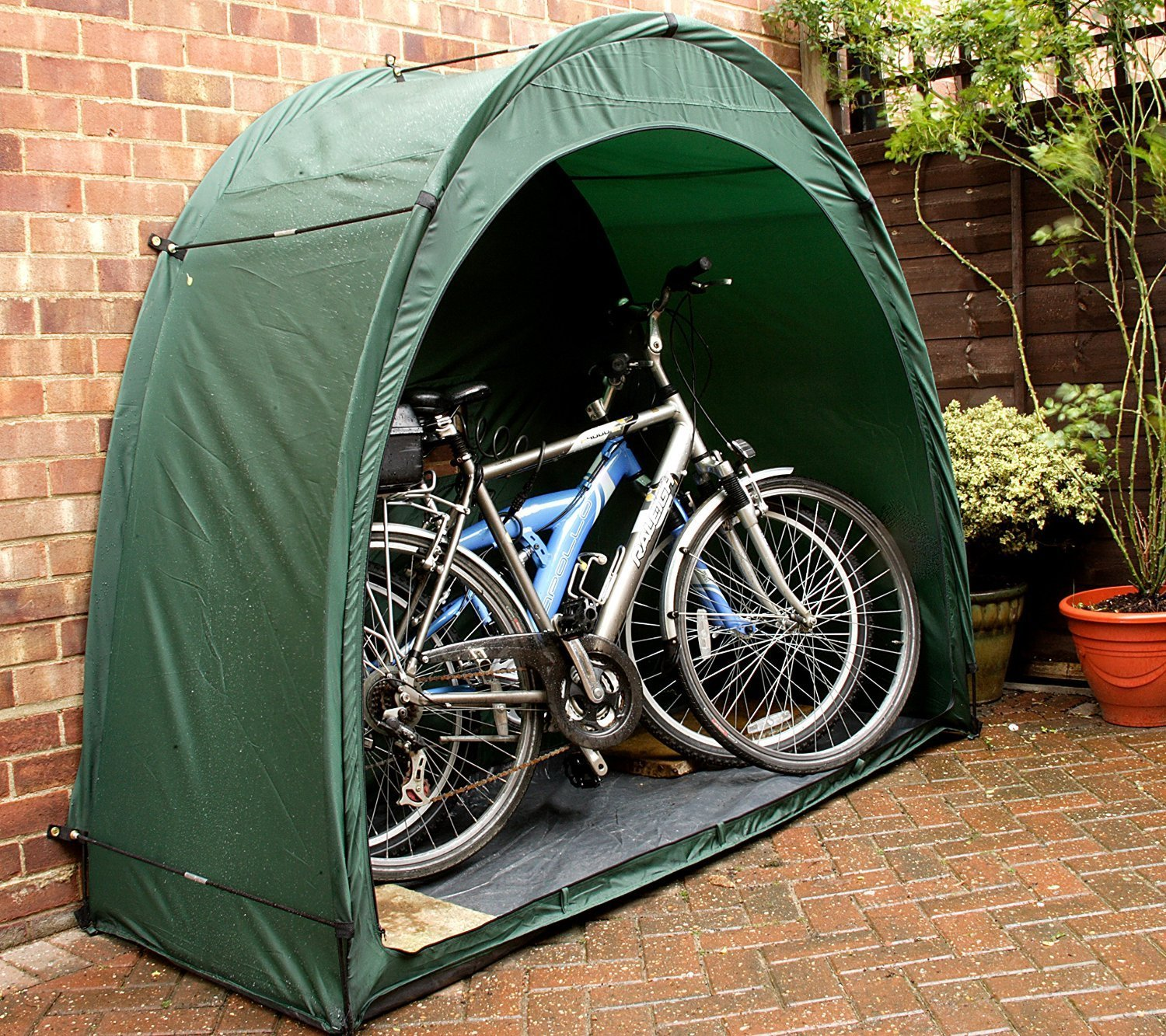 Portable Bike Tent Bicycle Storage Shed Waterproof for Backyard Garage Outdoor