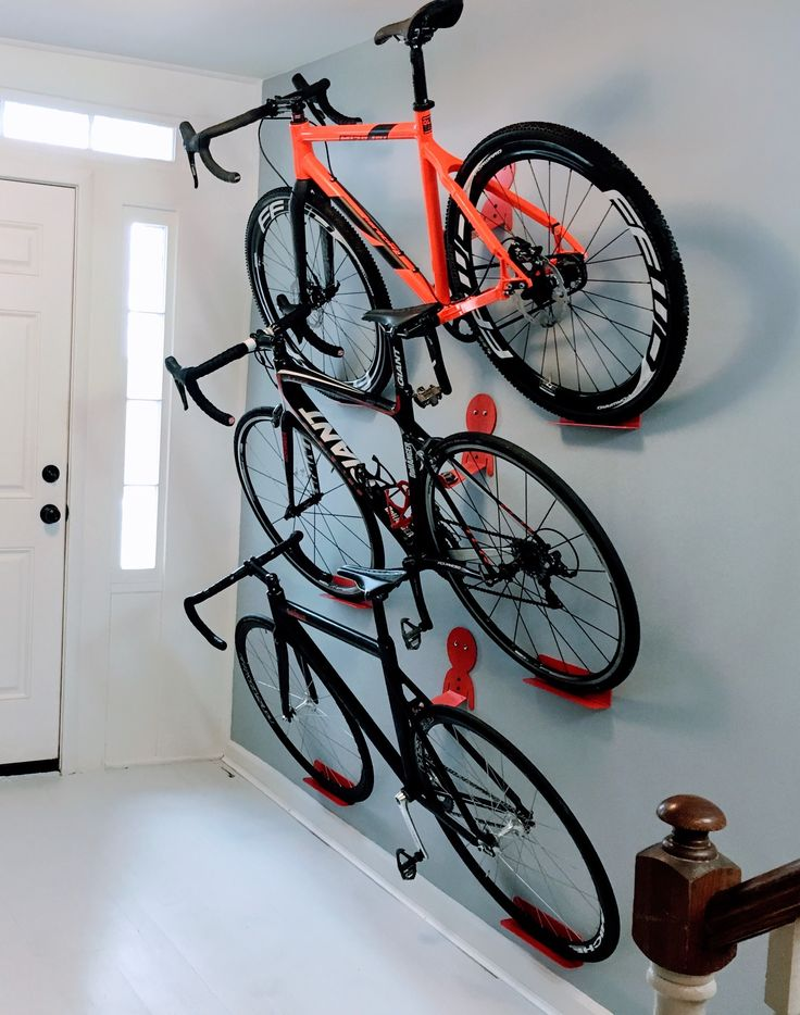 Bike Storage with DIY Designs to Overcome the Space Problem