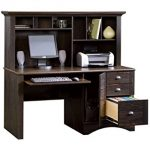 : Computer desk with hutch be equipped cheap home office desks be equipped wooden computer desk hutch be equipped modern secretary desk with hutch