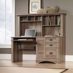 : Computer desk with hutch be equipped computer hutch armoire be equipped oak computer desks for home be equipped computer desk with hutch and keyboard tray