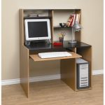 : Computer desk with hutch be equipped desk with hutch dark wood be equipped computer desk with filing be equipped wooden computer hutch