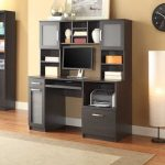 : Computer desk with hutch be equipped small desk with hutch be equipped small l shaped desk be equipped black desk with hutch
