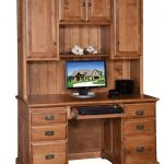 : Computer desk with hutch be equipped solid wood computer desk and hutch be equipped computer desk hutch be equipped mahogany computer desk