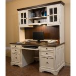 : Computer desk with hutch be equipped white study desk with hutch be equipped wood computer desk and hutch be equipped small computer desk with drawers