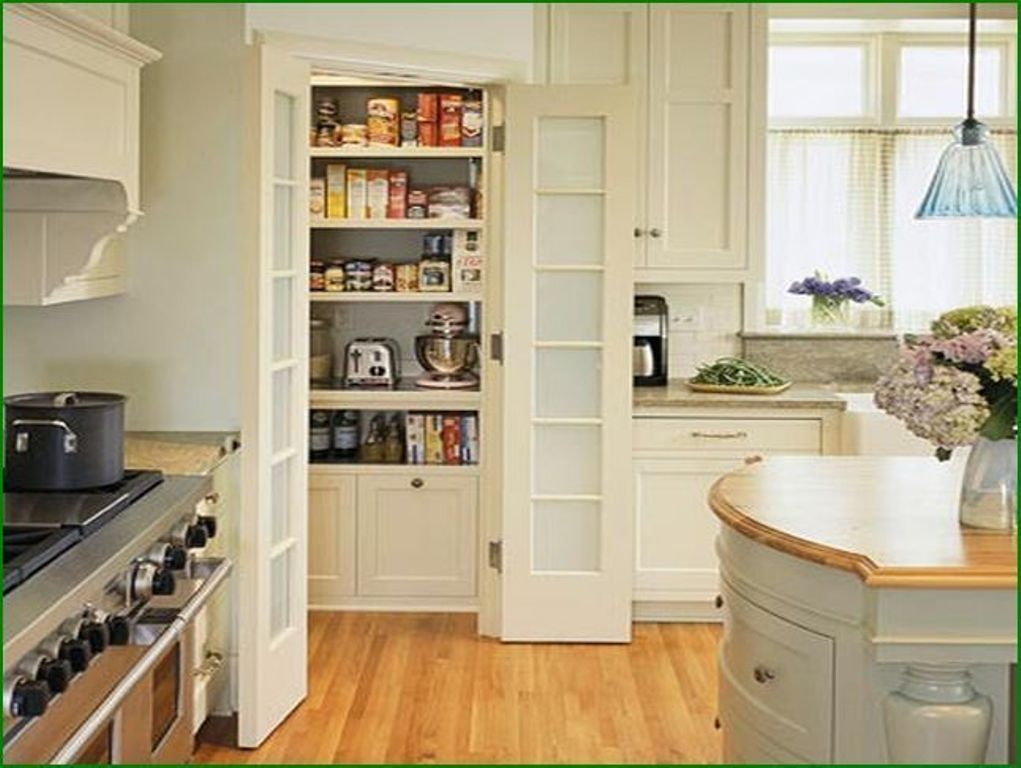 Corner pantry cabinet and also storage pantry with doors and ...
