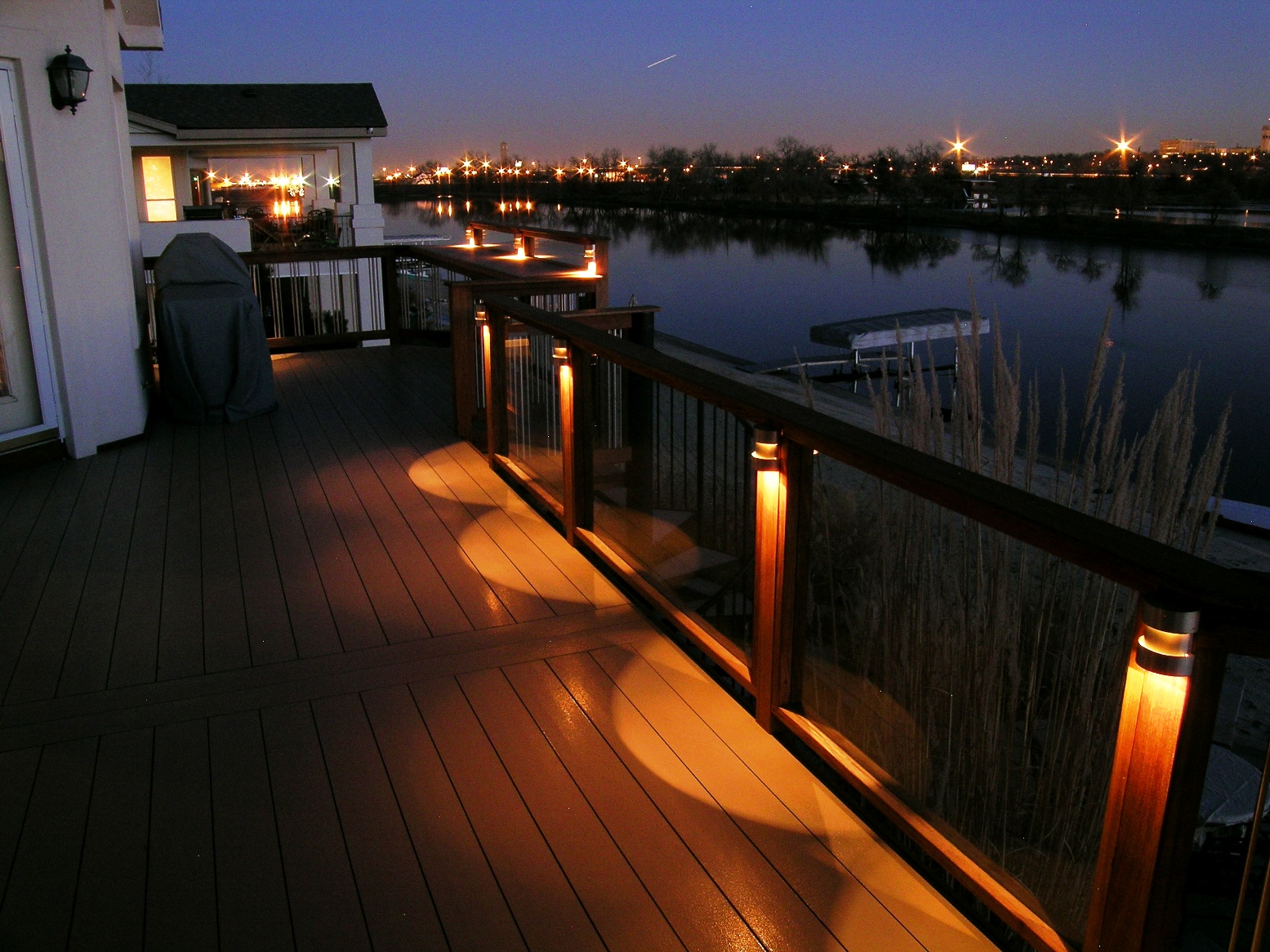 Deck lighting you can look deck stairs with lights you can look lights around deck you can look veranda solar deck lights