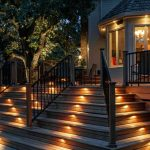 : Deck lighting you can look decking spotlights you can look low voltage post cap lights you can look solar powered deck lights