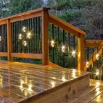 : Deck lighting you can look led deck rail lighting you can look security lights you can look backyard lights