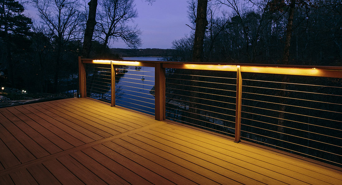 Deck lighting you can look professional outdoor lighting you can look under rail lighting deck you can look outside landscaping lights