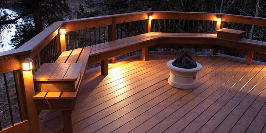Deck Lighting with Plenty Ideas to Install in Style