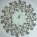 : Decorative wall clocks with chiming wall clocks with 6 inch wall clock with home decor clocks