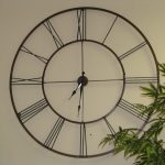 : Decorative wall clocks with large modern kitchen wall clocks with large green wall clock with large silver clock
