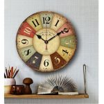 : Decorative wall clocks with large rustic wall clock with large lounge wall clocks with wall clock decorative home design