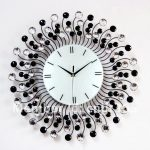 : Decorative wall clocks with large wall clock with large grey clock with luxury wall clocks