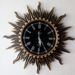 : Decorative wall clocks with round clock with large black clock with quality wall clocks