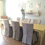 Dining Room Chair Slipcovers with Designs to Cover Up Any Weakness