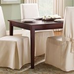 : Dining room chair slipcovers and also counter height chair slipcovers and also sectional couch slipcovers and also tall dining chair covers