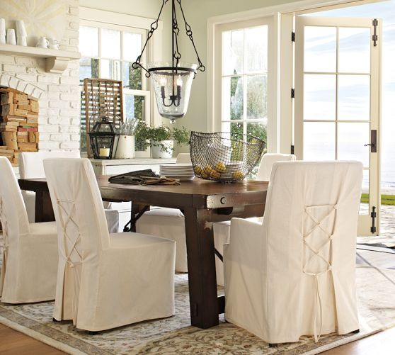 Dining room chair slipcovers and also dining room chair ...