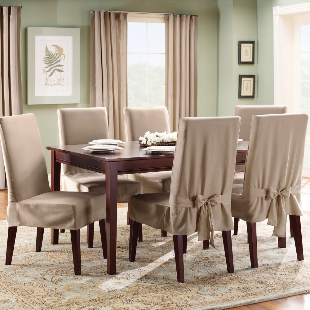 Genial Dining Room Chair Slipcovers With Designs To Cover Up Any Weakness |  Inspiration Home Magazine